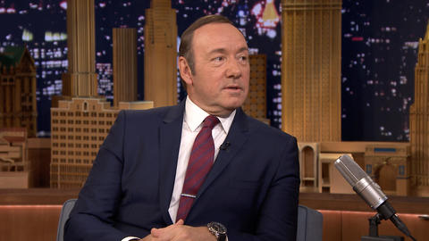 Kevin Spacey Does a Great Johnny Carson Impression
