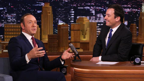 Kevin Spacey Talks House of Cards