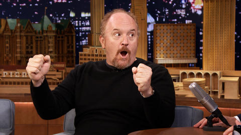 Louis C.K. Sails His Boat Around New York City