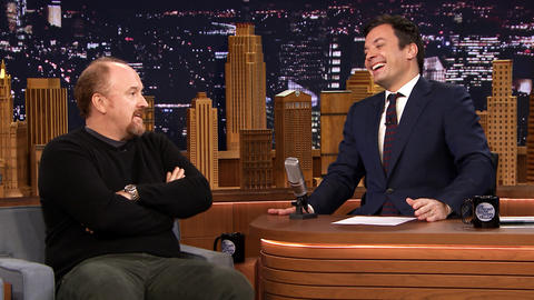 Louis C.K. Gives Jimmy Fallon Parenting Advice