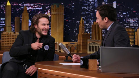 Taylor Kitsch Is Superstitious About Hockey and the New York Rangers