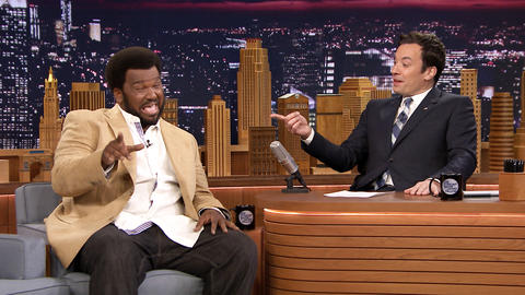 Craig Robinson Has a Blue Steel Face-Off with Jimmy Fallon