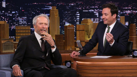 """Clint Eastwood's """"A Little Blonder"""" Than His First Tonight Show Appearance"""
