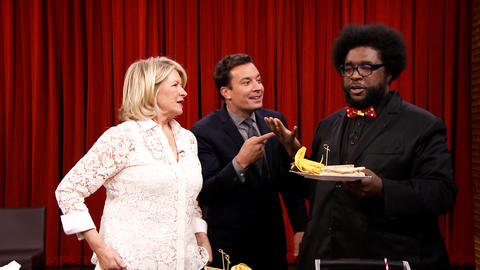 Martha Stewart and Jimmy Have a Cubano Sandwich Cook-Off