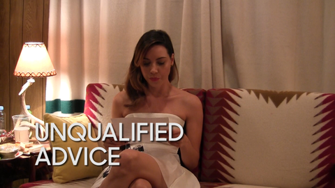 Unqualified Advice: Aubrey Plaza