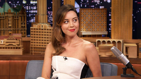Aubrey Plaza Balls Hard on the Basketball Court