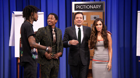 Pictionary with Megan Fox, Nick Cannon and Wiz Khalifa – Part 2