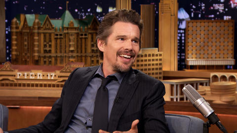 Ethan Hawke Keeps His Kids' Birthday Expectations Low