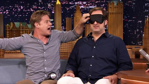 Tim Heidecker Surprises Eric Wareheim on The Tonight Show
