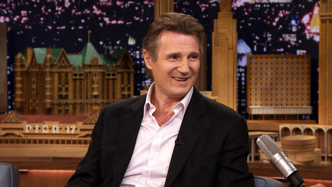 Liam Neeson Was Afraid of Climbing Mollie's Nipple
