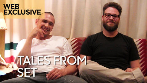 "Tales from Set: James Franco and Seth Rogen on ""Bound 2"""