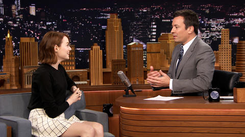 Jimmy Gives Emma Stone a Therapy Session