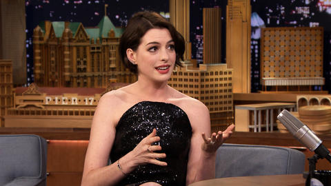 Anne Hathaway Crashed a Party with Matthew McConaughey