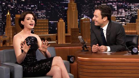 Anne Hathaway Cried Watching Interstellar