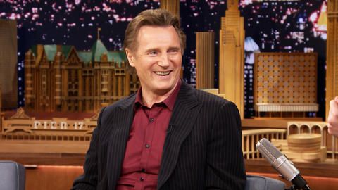 Liam Neeson Leaves Taken Messages for His Sons' Friends
