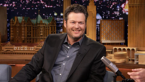 Jimmy Serenades Blake Shelton