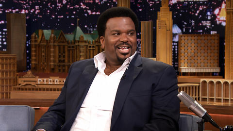 Craig Robinson Struggled with Beads During Mardi Gras
