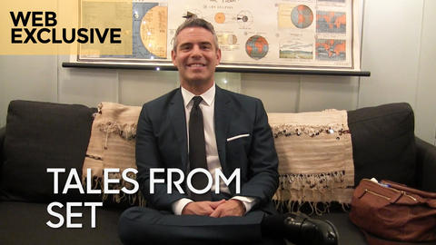 """Tales from Set: Andy Cohen on """"Watch What Happens Live"""""""
