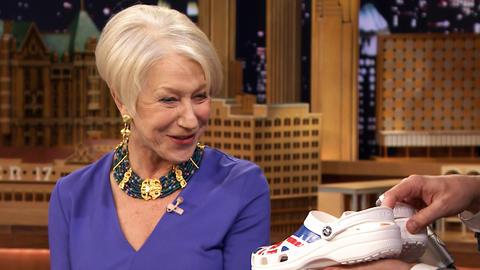 Helen Mirren Trades Her High Heels for a Pair of Crocs