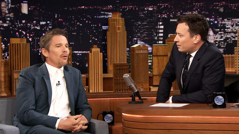 Elvis Costello Helped Ethan Hawke Through Dead Poets Society Audition