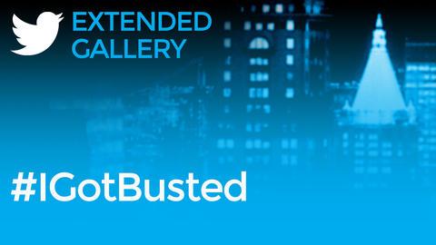 Hashtag Gallery: #IGotBusted