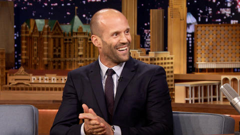 Jason Statham Rolled Jimmy Over in a Hamster Ball
