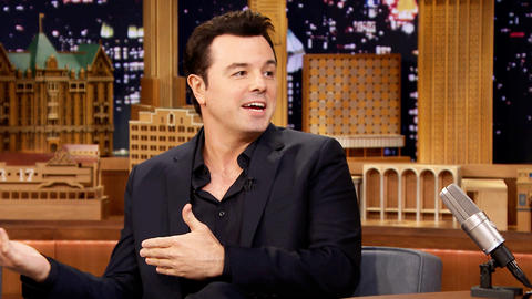 Seth MacFarlane Guests on The Tonight Show Starring Jimmy ...