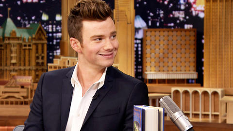 Chris Colfer's Cat Is on a Diet and Not Happy