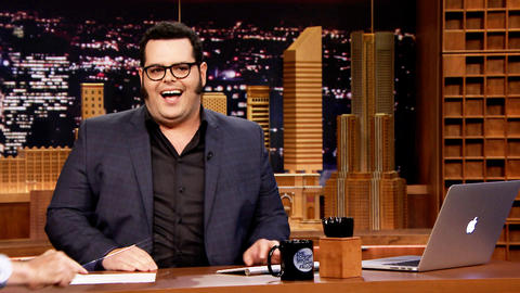 Josh Gad Takes Over The Tonight Show