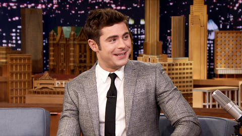 Zac Efron Swam with a Wild Tiger Shark