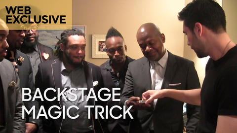 Backstage Magic Trick: Dan White and The Roots