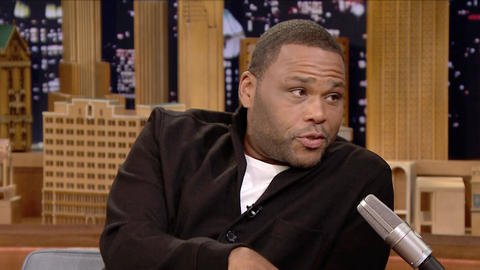 Anthony Anderson Let His Son Drive at Nine Years Old