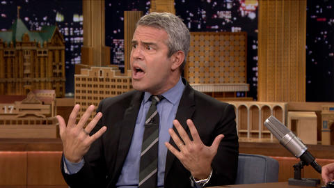 Andy Cohen Burned Tori Spelling on His Talk Radio Show