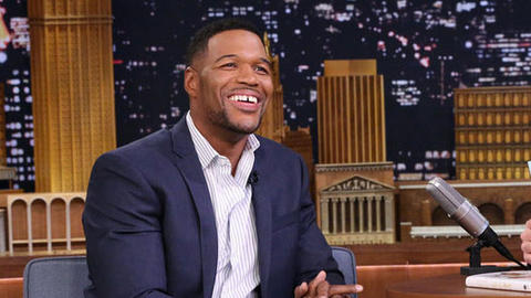 Michael Strahan Used to Dress Like Skittles