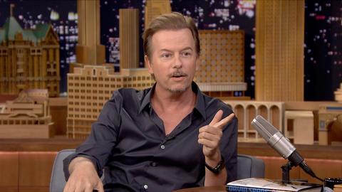 """Bradley Cooper Ruined David Spade's """"Buh-Bye"""" Bit at SNL40"""