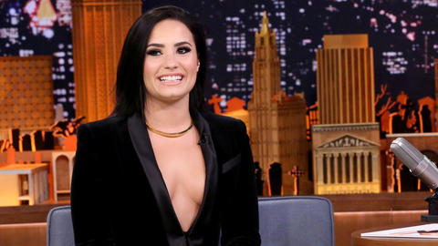 Jimmy Scares Demi Lovato About Singing the National Anthem