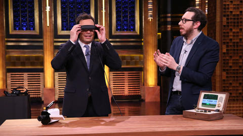 Joshua Topolsky Helps Jimmy Paint the Moon with a VR Headset