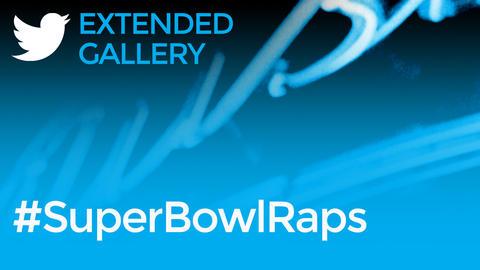Hashtag Gallery: #SuperBowlRaps