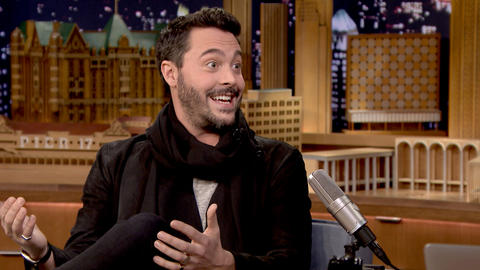 Jack Huston Is a Third-Generation Tonight Show Guest