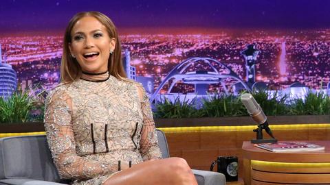 Jennifer Lopez Is So Proud of Shades of Blue