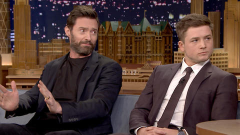 Hugh Jackman Flew in an F-16
