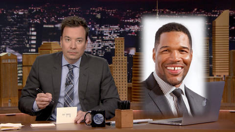 Thank You Notes: Canada, Michael Strahan