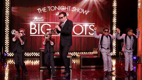 Little Big Shots Take Over The Tonight Show