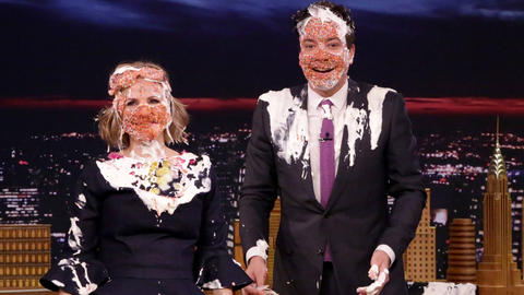 Amy Sedaris Gives Jimmy a Cake Sprinkles Facial