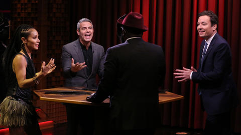 Famous Face-Off with Jada Pinkett Smith and Andy Cohen
