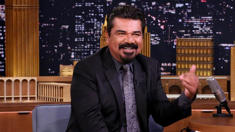 George Lopez's Daughter Treats Jimmy's Wax Figure Better Than His