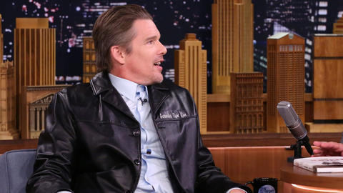 Ethan Hawke Wrote a Graphic Novel