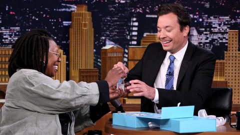 Whoopi Goldberg Brings Jimmy a Delicious Gift