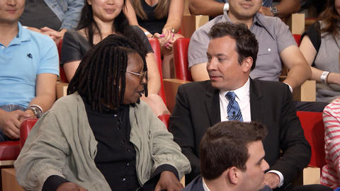 Whoopi Goldberg and Jimmy Fallon Trade Places with the Audience
