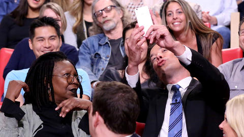 Whoopi Goldberg Takes Her First Selfie